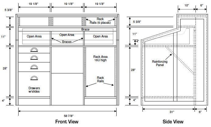 Closet Cabinet Dimensions